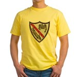 USS ESTES Yellow T-Shirt