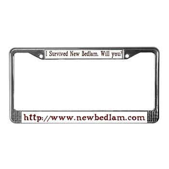 Lic. Plate Frame
