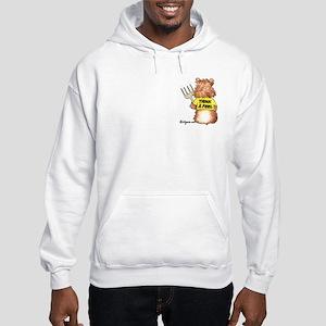 Abrahamster YumaRocks Cartoon Hooded Sweatshirt