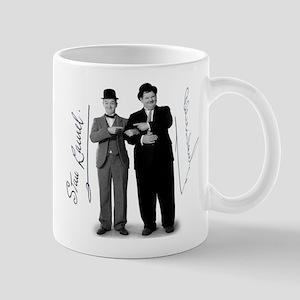 Laurel and Hardy Signed Mug Mugs