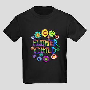 Flower Child Kids Dark T-Shirt