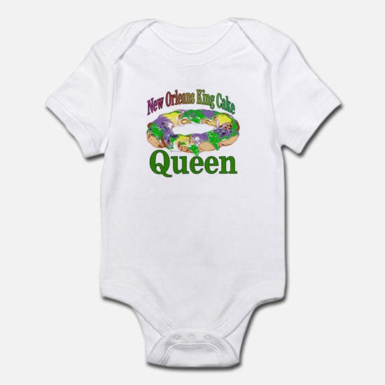 King Cake Party Infant Bodysuit