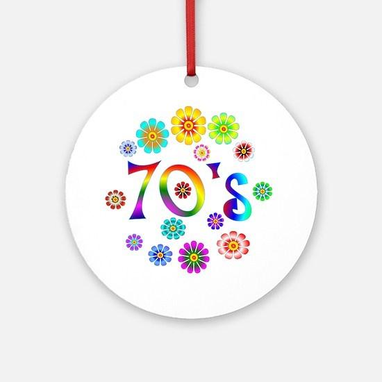 70s Ornament (Round)