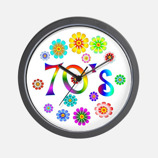 70s Wall Clock