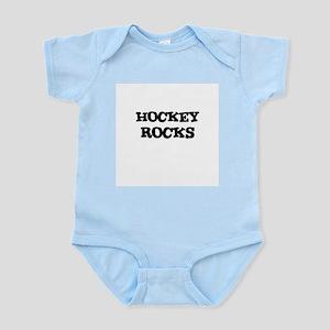 HOCKEY ROCKS Infant Creeper