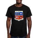 USS MAGOFFIN Men's Fitted T-Shirt (dark)