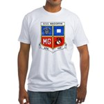 USS MAGOFFIN Fitted T-Shirt