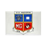 USS MAGOFFIN Rectangle Magnet (10 pack)