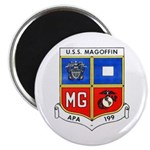 """USS MAGOFFIN 2.25"""" Magnet (100 pack)"""