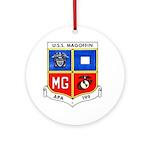 USS MAGOFFIN Ornament (Round)