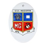 USS MAGOFFIN Oval Ornament