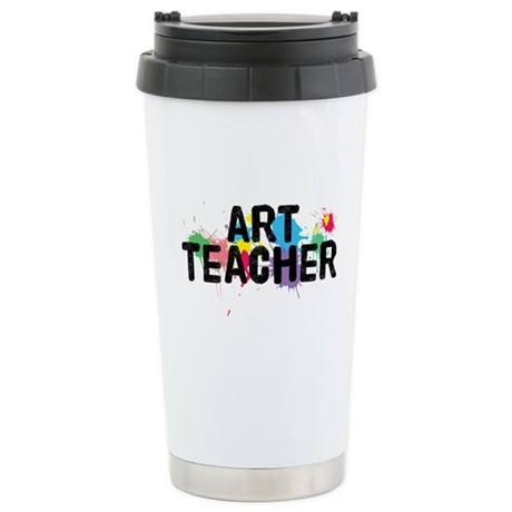 Art Teacher Stainless Steel Travel Mug