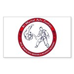 Ki Martial Arts Sticker (Rectangle 10 pk)