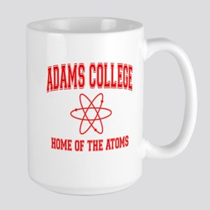 Adams College Large Mug