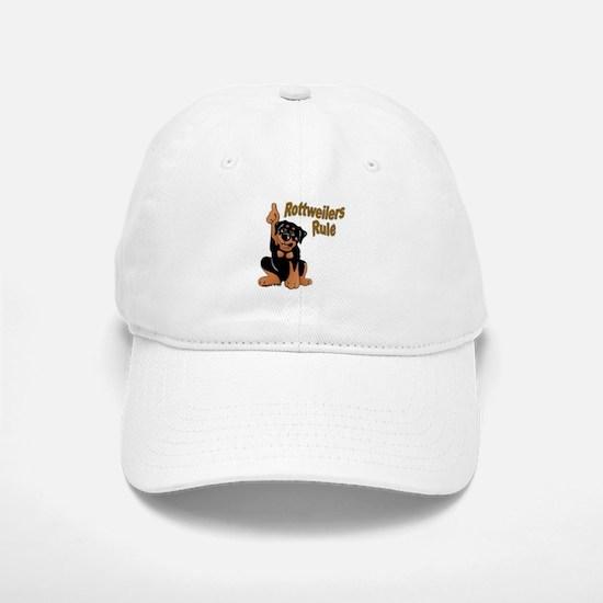 Rottweilers Rule Baseball Baseball Cap