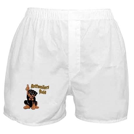 Rottweilers Rule Boxer Shorts