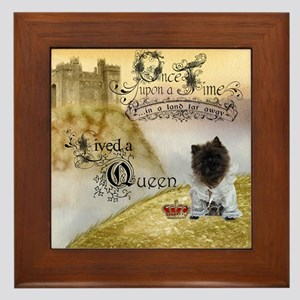Cairn Terrier Framed Tile