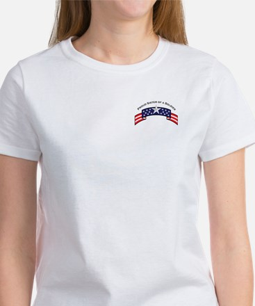 Proud Sister of a Soldier Sta Women's T-Shirt