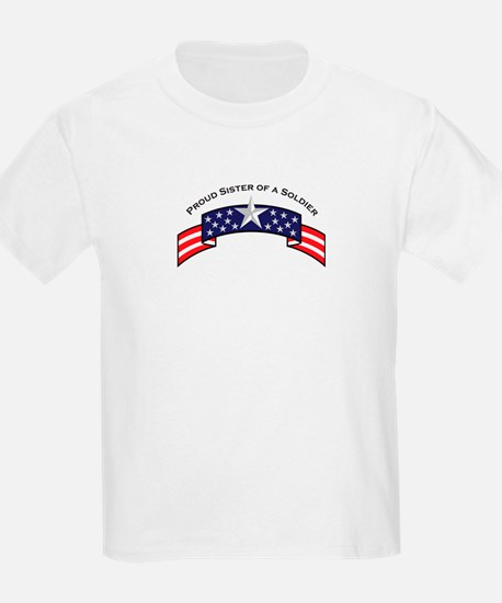 Proud Sister of a Soldier Sta T-Shirt
