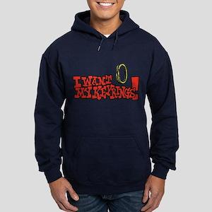 I Want My Keyrings! Hoodie (dark)