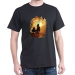 """Flametamers"" Black T-Shirt"