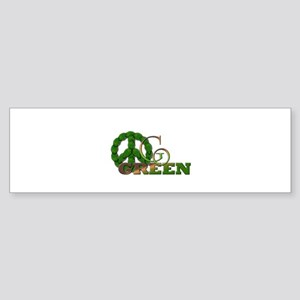 Go Green 2 Bumper Sticker