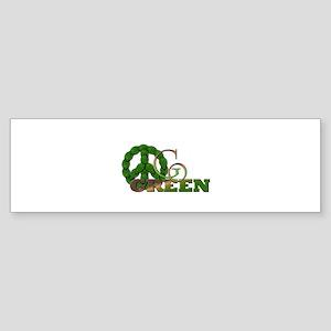 Go Green 2 Bumper Sticker