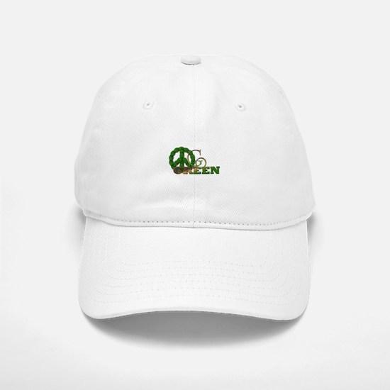 Go Green 2 Baseball Baseball Cap
