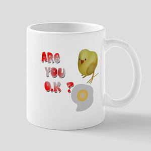 Are you O.K ? Mug