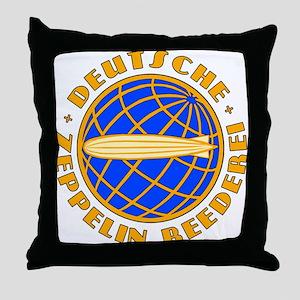 Vintage Zeppelin Company Throw Pillow