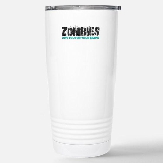 Zombies Stainless Steel Travel Mug