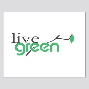 LiveGreen4 Small Poster