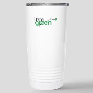 LiveGreen4 Stainless Steel Travel Mug