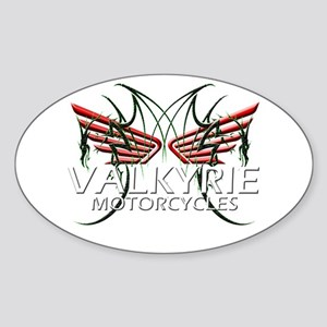 F-6 VALKYRIE GEAR Oval Sticker