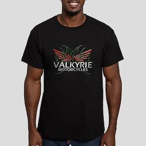 F-6 VALKYRIE GEAR Men's Fitted T-Shirt (dark)