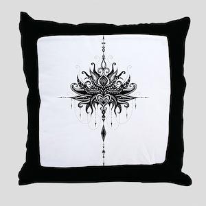 Lotusmandala Throw Pillow