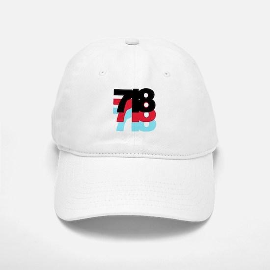 718 Area Code Baseball Baseball Cap