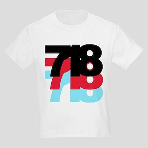 718 Area Code Kids Light T-Shirt