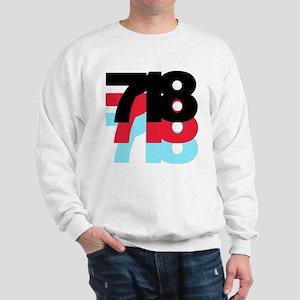 718 Area Code Sweatshirt