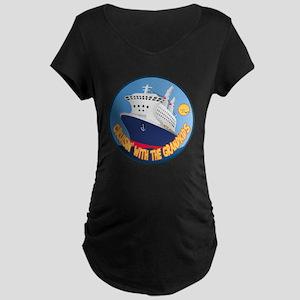 Cruisin' with the GrandKids Maternity Dark T-Shirt