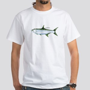 Tarpon talk White T-Shirt