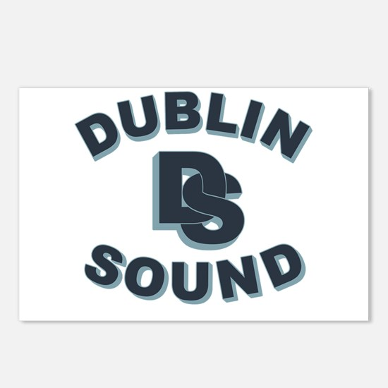 Dublin Sound Retro Postcards (Package of 8)