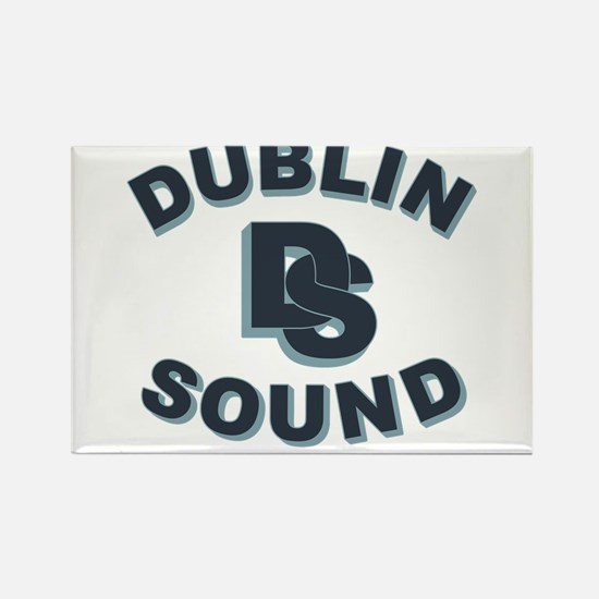 Dublin Sound Retro Rectangle Magnet