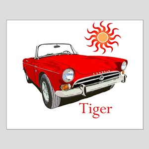 The Red Tiger Small Poster