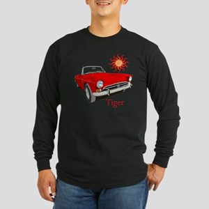 The Red Tiger Long Sleeve Dark T-Shirt