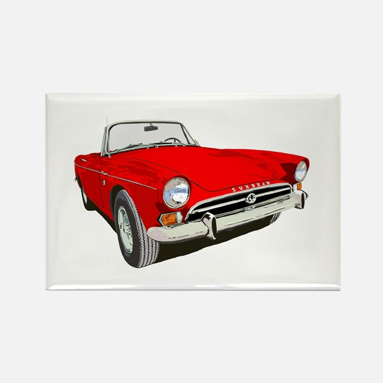 Cute Sports cars Rectangle Magnet