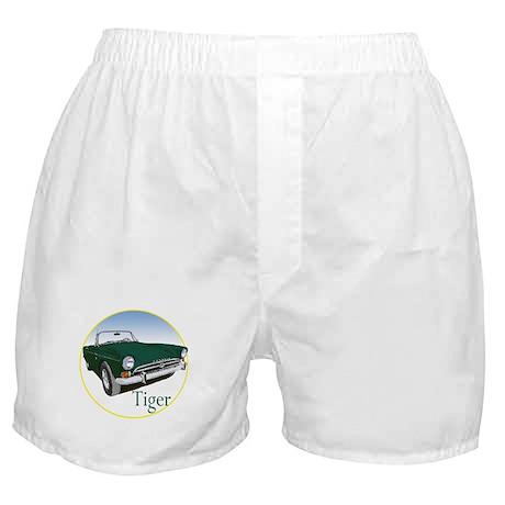 The Green Tiger Boxer Shorts