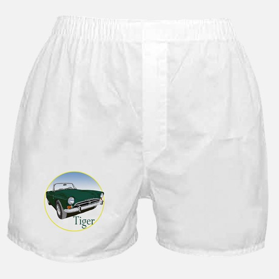 The Green Tiger Boxer Shorts