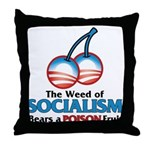 A Poison Fruit Throw Pillow