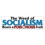 The Wead of Socialism Bumper Sticker